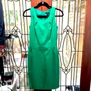 J. Crew Classic Green Dress with pockets